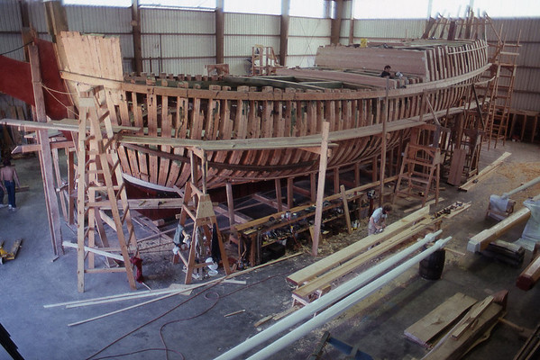 Lady Washington Under Construction